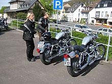dieses Foto zeigt Motorradfahrer
