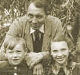 dieses Foto zeigt Franz Bierikoven und Kinder