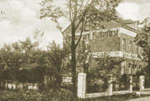 Dieses Foto zeigt das Hotel Kottenforst um etwa 1900